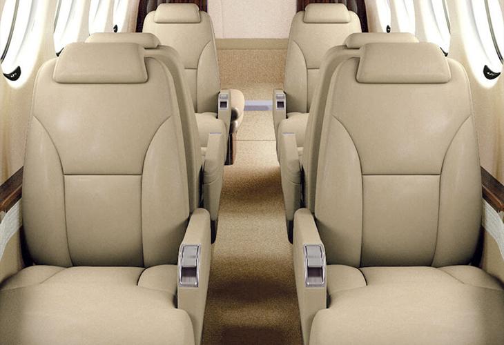 turboprop interior