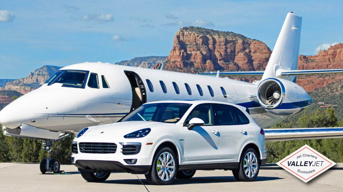 porshe private jet charter